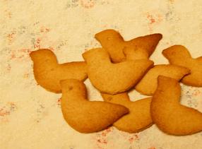 ことりの生姜クッキー