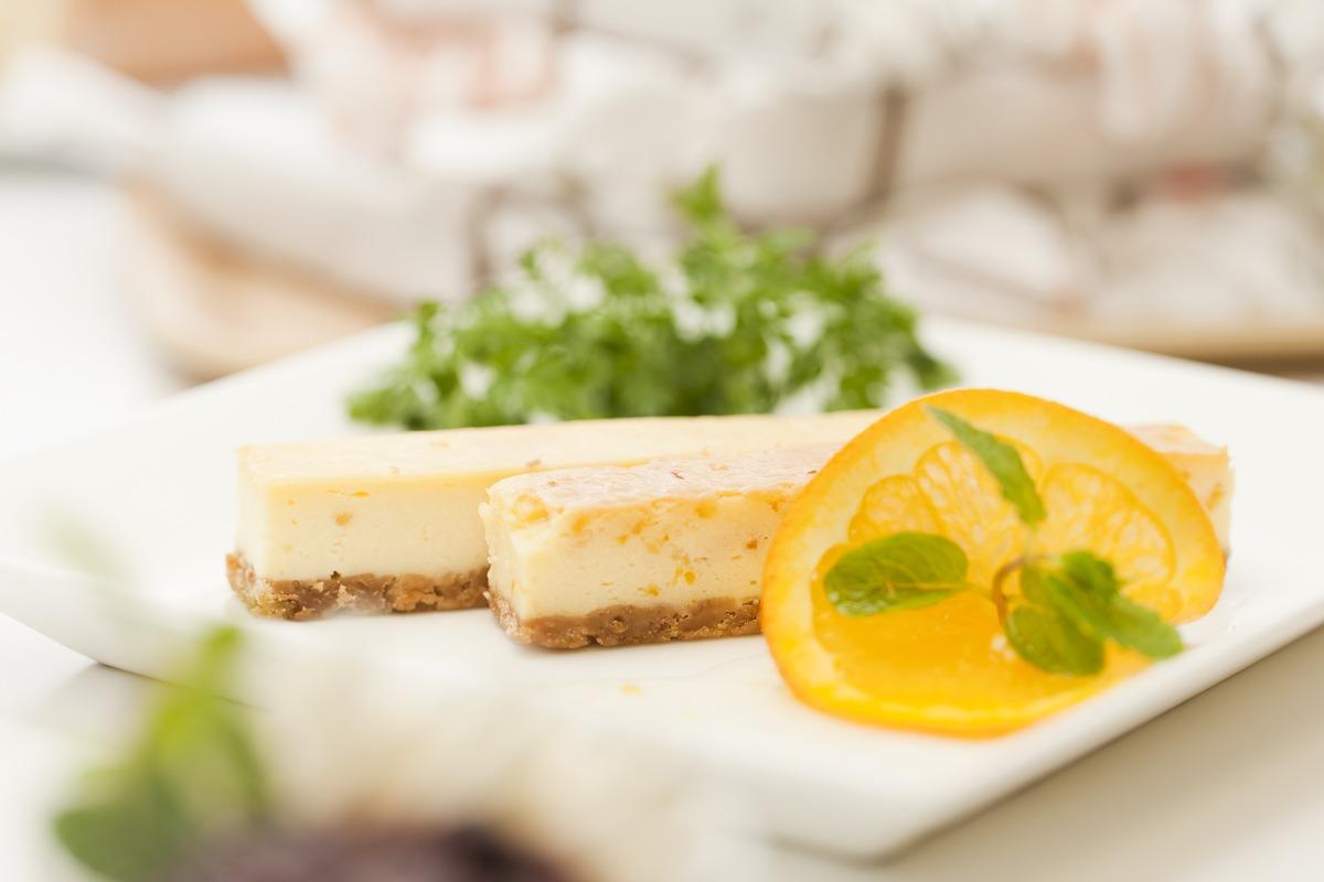 チーズケーキファクトリー チーズバーオレンジ